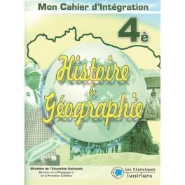 HISTOIRE-GEOGRAPHIE 4ème - MON CAHIER D'INTEGRATION
