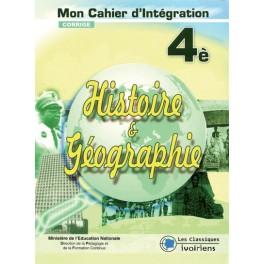 GIUDE HISTOIRE-GEOGRAPHIE 4ème CORRIGÉ-MON CAHIER D'INTEGRATION