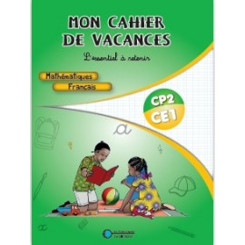 MON CAHIER DE VACANCES CP2 CE1