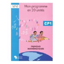 MON PROGRAMME EN 20 UNITE CP1