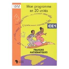 MON PROGRAMME EN 20 UNITE CE1