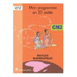 MON PROGRAMME EN 20 UNITE CM2